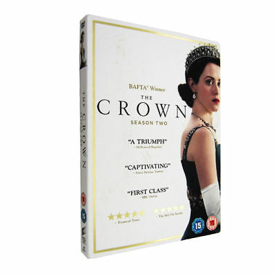 The Crown Complete Season 2 On Dvd, Brand New And Sealed, Region 2 Uk