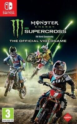 Video Gioco The Official Monster Energy Supercross Nintendo Switch Multilingue I
