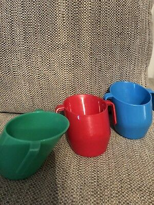 Baby Toddler Weaning Doidy Cups X 3