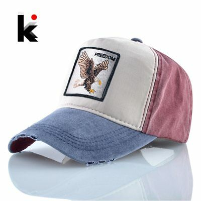 Embroidery Eagle Baseball Caps Men Spring Autumn Cotton Dad Hat For Women