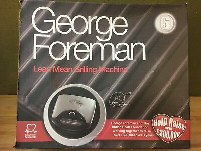 George Forman Lean Mean Grilling Machine BRAND NEW BOXED  27E