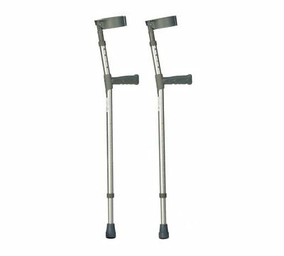 Adjustable Forearm Crutches Get You Back From A Bone Break or Strain
