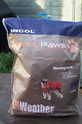 Ancol Muddy Paws Jacket Waterproof Warm Dog Coat All Weather
