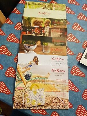 Cath Kidston 2016/2017 Catalogues x 8