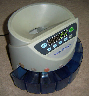 Automatic UK / GBP Coin Counter and Sorter for Money Cash Counting