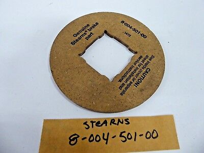 Stearns 8-004-501-00 Brake Friction Disc