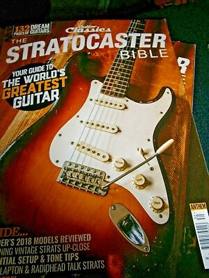 Guitar Classics The Stratocaster Bible 2018 (new)