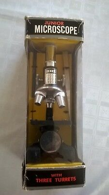 Vintage Junior Microscope Set - Good Condition