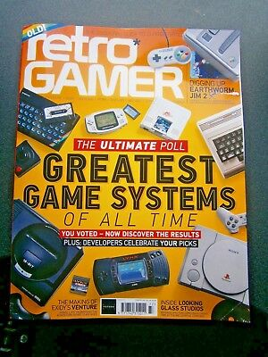 Retro Gamer Magazine Issue 177 (new) 2018