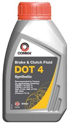 Comma BF4500M 500ml Dot 4 Synthetic Brake Fluid