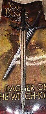 United Cutlery Dagger Of The Witch King Sword Lord Of The Rings First 224/300