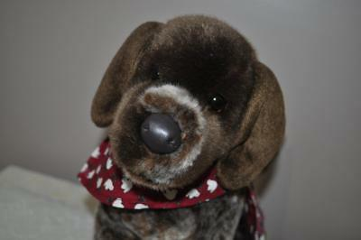 WOLFGANG the Stuffed GERMAN SHORTHAIRED POINTER Plush - by Douglas Cuddle Toys