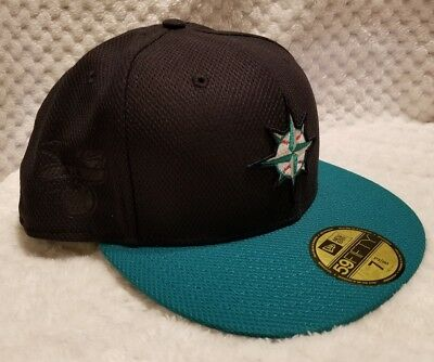 promo code 8b488 995d6 ... greece seattle mariners 7 3 8 hat cap fitted new era mlb baseball 59fifty  mens diamond