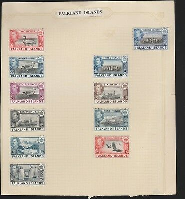 FALKLAND ISLAND LOT OF OLD STAMPS - high cat value