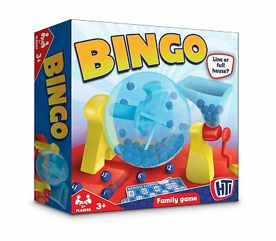 Bingo Lotto Classic Traditional Family Board Game Kids Childrens Party Toys
