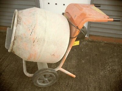 Belle  150 cement mixer electric 240v. Used only for light use. with stand.