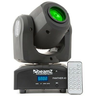 BeamZ Panther 40 LED Moving Head Spot