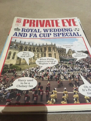 PRIVATE EYE MAGAZINE #1470 ~ 18th - 31st MAY 2018