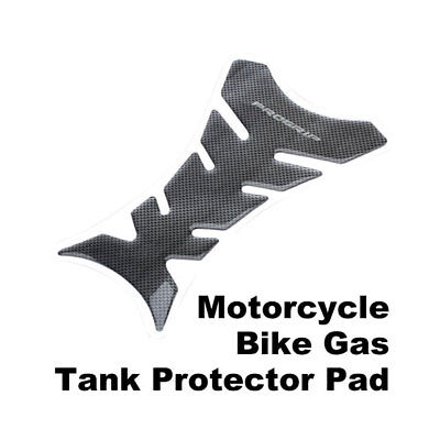 Universal Motorcycle Sticker Decal Gas Oil Fuel Tank Pad Protector Black JF#E