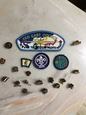 Assorted Boy Scout Pins
