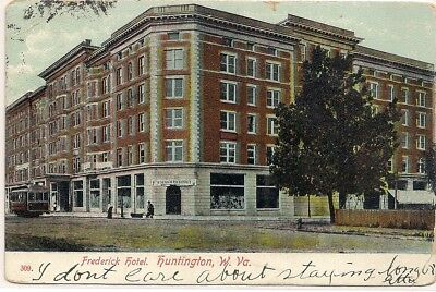 Huntington West Virginia Wv. Cabell County Postcard