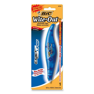 BIC - Wite-Out Exact Liner White Correction Tape Pen - 1 Pen