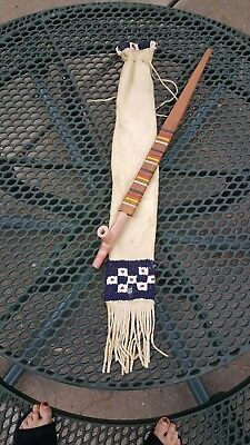 Beaded pipe bag And Pipe