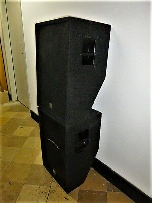 2 x Audio Zenit CD 15, PA Boxen, Tops, 400 W RMS