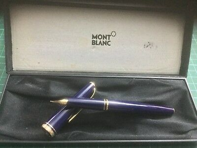 Montblanc Generation Gold-Coated Fountain Pen - Blue