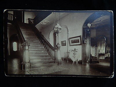 Early c1900 Isaac Almstaedt Cabinet Photo~Dongan Tower Interior~Staten Island