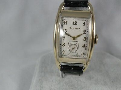 1938 Bulova Ultra Rare * Montgomery *men`s Watch...this Is The Long One