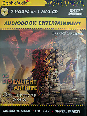 Graphic Audio: Oathbringer mp3 (6 of 6) audiobook