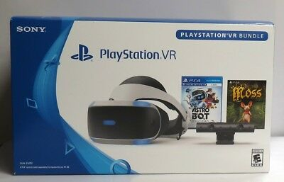Sony PlayStation VR Bundle ASTRO BOT Rescue Mission + Moss  (PS4 PSVR) NEW