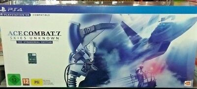 Ace Combat 7 Skies Unknown Edition Collector Playstation 4 STRANGEREAL nuovo