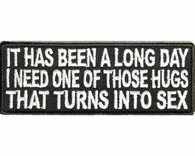 BEEN THERE DONE THAT SEW//IRON ON PATCH BADGE EMBLEM EMBROIDERED BIKER T SHIRT