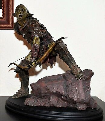 Weta Sideshow - Moria Orc Archer / Herr der Ringe / Lord of the Rings