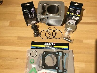 BERLT 175 62mm Big Bore Kit Inc Performance Cam Fits 00-16 Yamaha TTR125