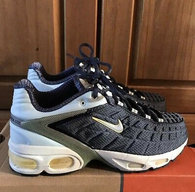 low priced 53a77 4d941 Nike Air Max Tailwind 5 GS Blue 5.5uk Women s Girls Rare Vintage DS 2000 TN
