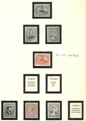 CANADA COLLECTION 1851-1989, All mint, earlies w/ng, two albums, Scott $42,474