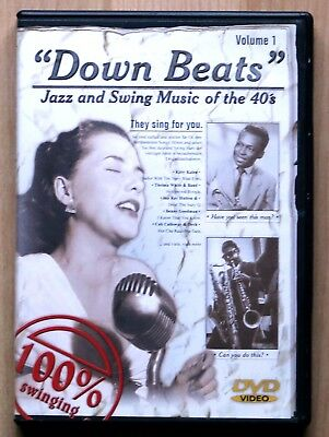 DVD Down Beats Jazz and Swing Music of the 40s