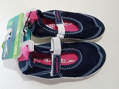 f950fe9b9b33 SPEEDO TODDLER GIRLS - Mary Jane Water Shoes - Navy Blue - NWT ...