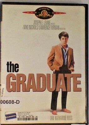 DVD Movie THE GRADUATE Dustin Hoffman In Original Jacket