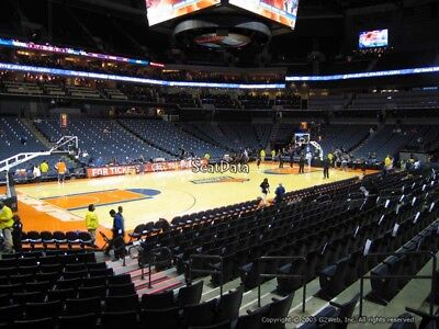 2 Tickets ACC Mens Basketball Tournament: Session 2 3/13/19 Charlotte, NC
