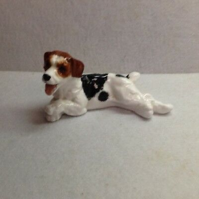 royal doulton jack terrier laying down figurine