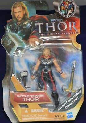 NEW THOR The Mighty Avenger Movie Hammer Smash Thor Action Figure #7