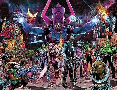 Guardians of the Galaxy # 1 Shaw Wraparound Variant Presale 01/23/2019