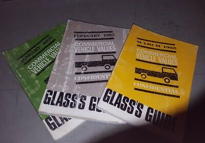commercial vehicle insurance glass's guide values check book 1982 classic trucks