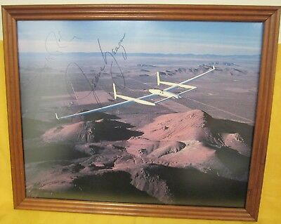 The Voyager Crew Photograph Signed By Jeana Yeager, Dick Rutan