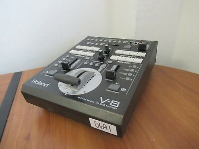 Roland V-8 Eight Channel Video Mixer Switcher #0691 E