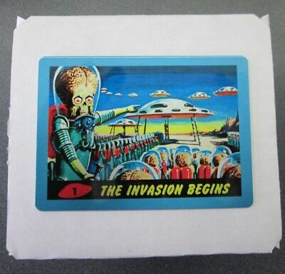 2015 Topps Mars Attacks Occupation Kickstarter 55-card METAL Heritage 1962 set